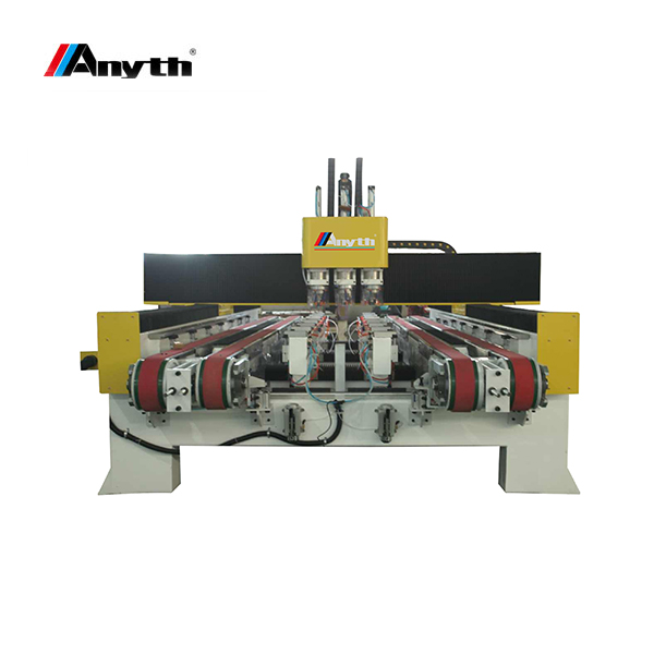 ANYTH  3 bits hole cutting machine in double worktable