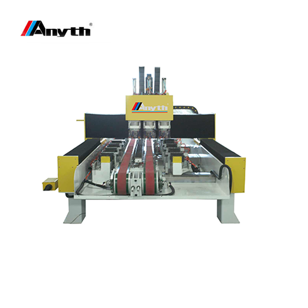 ANYTH 3 bits hole cutting machine in single worktable