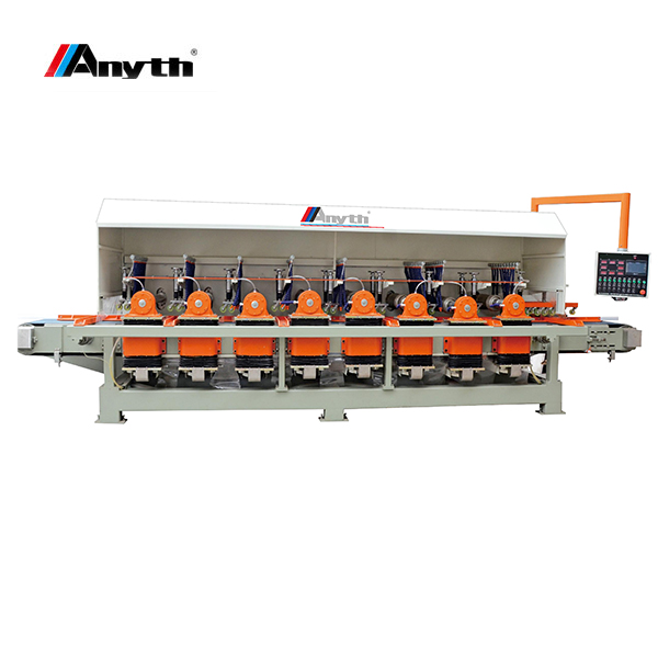ANYTH-10 head automatic stone square column profiling & polishing machine