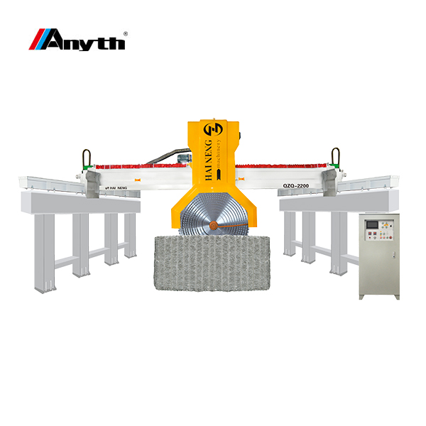 ANYTH-2200-1 Guide Combined Block Granite Cutting Machine(Guide Column Type)